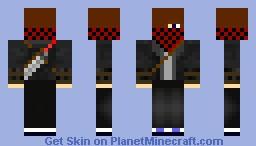 Teen Warrior Minecraft Skin