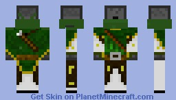 Dispenser Archer Minecraft Skin