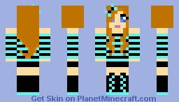 cute girl! Minecraft Skin