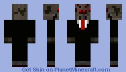 Spider in Suit! Minecraft Skin