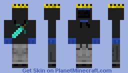 Cool Cokie Monsta Minecraft Skin