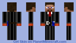 Steve suit Minecraft Skin