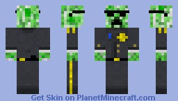 military creeper Minecraft Skin
