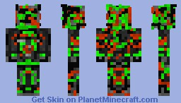 severely irradiated enclave soldier (credit to car_ramrod_44) Minecraft