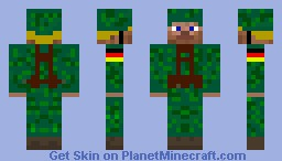 WW2 German Panzer Division Minecraft Skin
