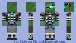 zombie super robo Minecraft Skin