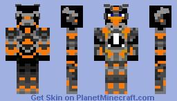 Penguin Warrior Minecraft Skin