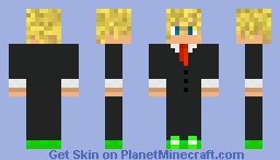 Me in a Tuxedo Minecraft Skin