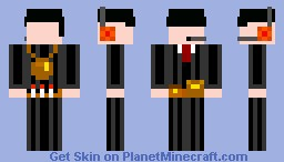 specially agent without face Minecraft Skin
