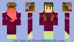 Mystia,Goddess Of Silence (Millionth place) Minecraft Skin