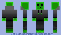Slime Hoodie Minecraft Skin