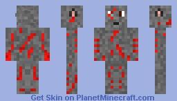 Scratched Wolf Minecraft Skin