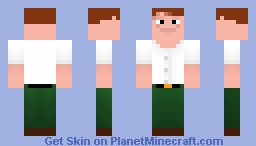Peter Griffin (Battle vs Jodmod) Minecraft Skin