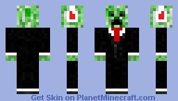 mr. creeper with beats Minecraft Skin
