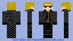 Wesker Minecraft Skin