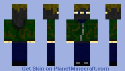 Camofire096 - IRL Tactical formal Minecraft Skin