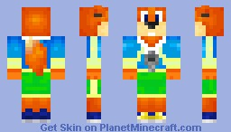 Conker (Live and Reloaded) Minecraft Skin