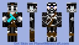 Dark Warrior Minecraft Skin