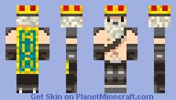 Avo King v 2.0 Minecraft Skin