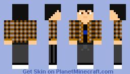 Me irl Minecraft Skin