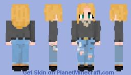 kyla the lesbean | O2 Minecraft Skin