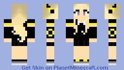 umbreon dress girl Minecraft Skin