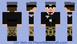 PanzerWaffe Officer WW2 Minecraft Skin