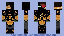 Infected Spartan Minecraft Skin