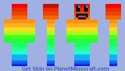 Hot & Cold Minecraft Skin