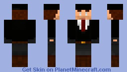 Inspired by Hitman Minecraft Skin