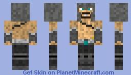 League of Legends Tryndamere Minecraft Skin