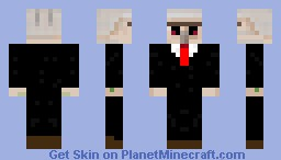 Iron golem in a suit Minecraft Skin