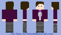 11th Doctor (Purple) Minecraft Skin