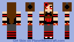 Blood Thirsty ihascupquake Minecraft Skin