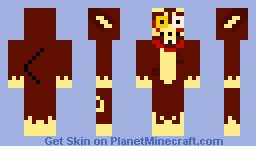 Infected wolfman (apocalypse skin contest) Minecraft Skin