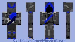 Aqua Ninja Minecraft Skin