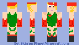 Cammy Minecraft Skin