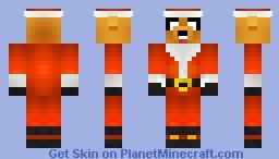 Santa Jake The Dog Minecraft Skin