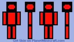 Cartoon box man Minecraft Skin