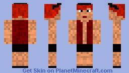 Cyberpunk gurl Minecraft Skin