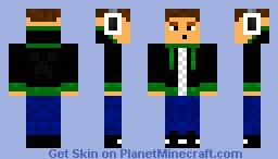 Hoodie Guy Minecraft Skin