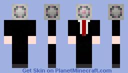Business Cube Minecraft Skin