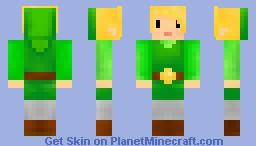 Toon Link! Minecraft Skin