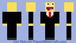 LoL in a suit Minecraft Skin