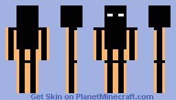 HumanEnderman Minecraft Skin