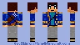 Skylord Crewman/Officer Minecraft Skin