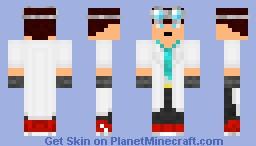 SCIENCE! Minecraft Skin
