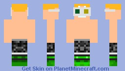 Kid with 3d glasses Minecraft Skin