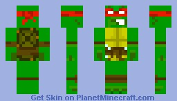 Raphael (2003 Version) Minecraft Skin