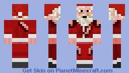 ~Creepy Claus~ Minecraft Skin